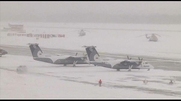 شاهد: حالة طوارئ في جزيرة ساخالين الروسية بسبب الثلوج