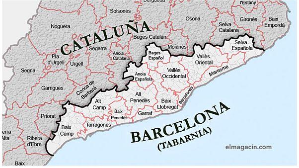 Tabarnia, une région fictive qui nargue la Catalogne