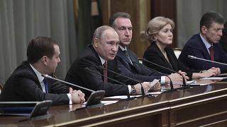 Vladimir Putin confirmado como candidato à presidência
