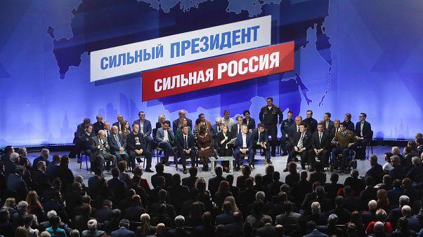 Putin'in seçim süreci resmen başladı