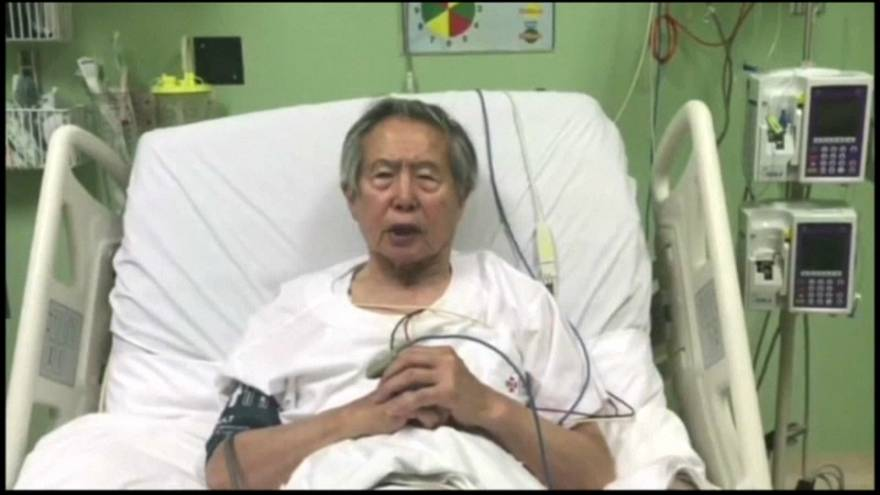 Peru'nun eski lideri Fujimori özür diledi