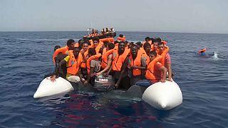 Rescatados más de 250 inmigrantes en el Mediterráneo la noche de Navidad