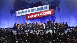 Hivatalosan is jelölt lett Putyin az elnökválasztáson