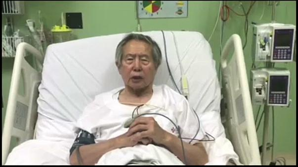 """L'ex-président péruvien Fujimori demande """"pardon du fond du coeur"""""""