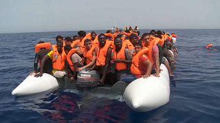 Mediterranean migrant deaths down in 2017