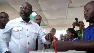 Stichwahlen in Liberia beendet - Hoffnung auf demokratischen Übergang