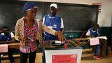 Liberya'da oy sayım işlemi sürüyor