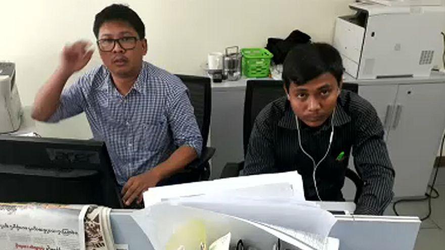 Estendido prazo de detenção de dois jornalistas da Reuters em Myanmar