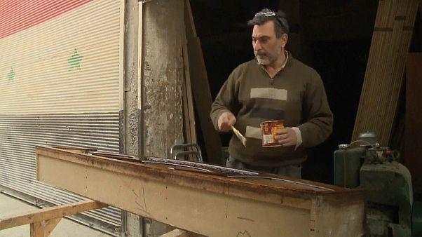 Halep halkı zor şartlar altında şehre geri dönüyor