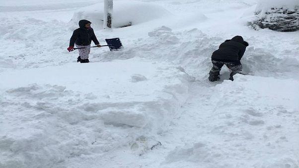 Χιόνι - ρεκόρ στην Πενσυλβάνια