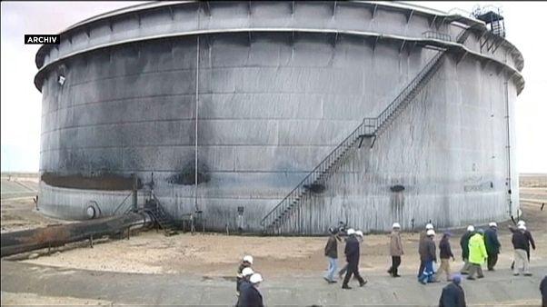Libyen: Öl-Produktion nach Bombenanschlag gefährdet