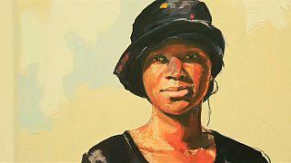 Obra de la artista Kudzanai-Violet Hwami