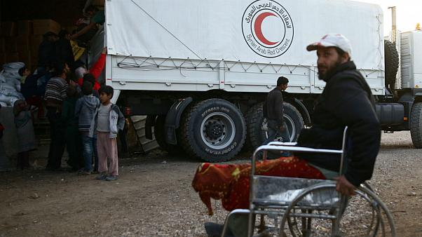 تخلیه بیماران از غوطه شرقی در سوریه آغاز شد