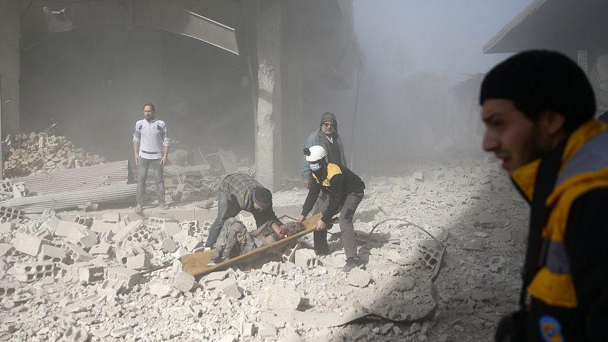 Começou operação de salvamento humanitário na região de Ghouta Oriental