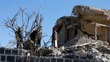 کشته شدن ۱۴ غیرنظامی در حمله هوایی ائتلاف عربی به بازاری در یمن
