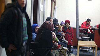 Evacuación humanitaria en Siria