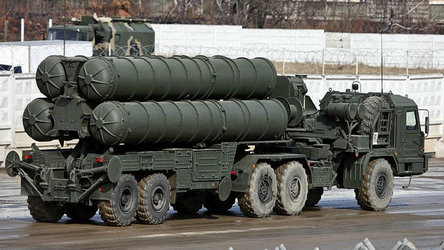 S-400 surface-to-air missile