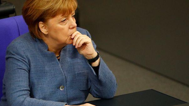 Csökkent Merkel támogatottsága