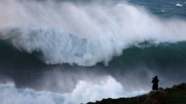 Tempête Bruno : des rafales de plus de 130 km/h