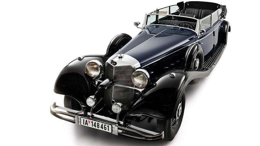 Hitler'in kullandığı Mercedes açık artırmaya çıkıyor