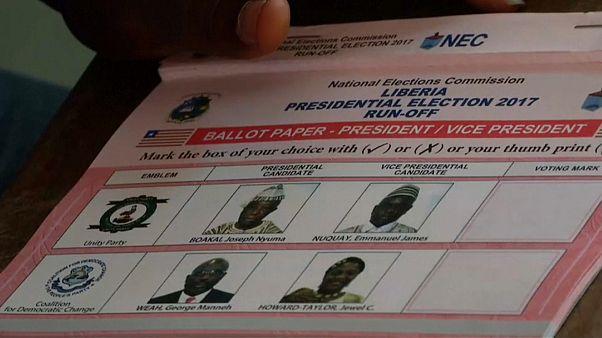 Liberya'da Weah önde gidiyor