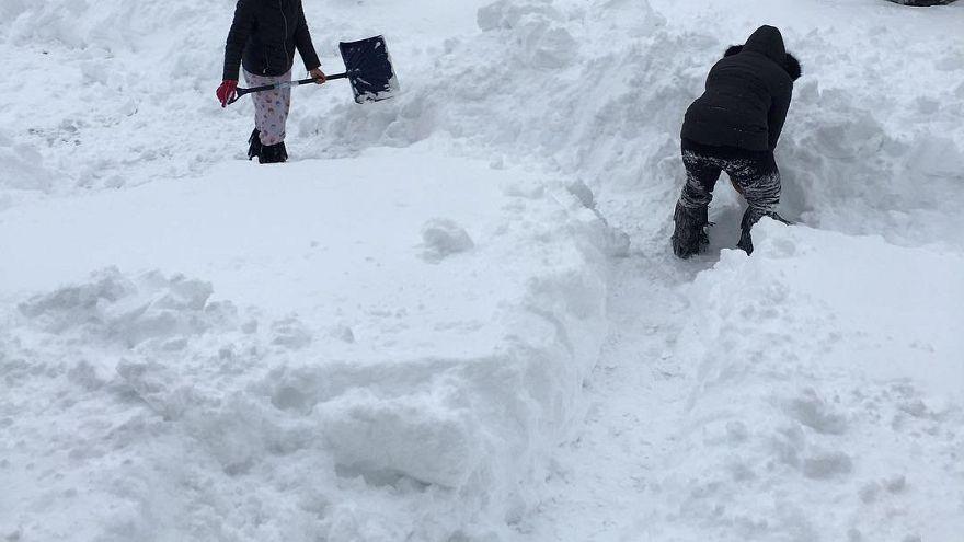 Chutes de neige record en Pennsylvanie