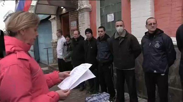 Ουκρανία: Άρχισε η ανταλλαγή κρατουμένων