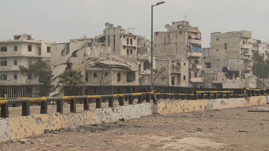 A vida depois da guerra em Alepo