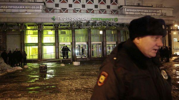 Взрыв в магазине в Петербурге