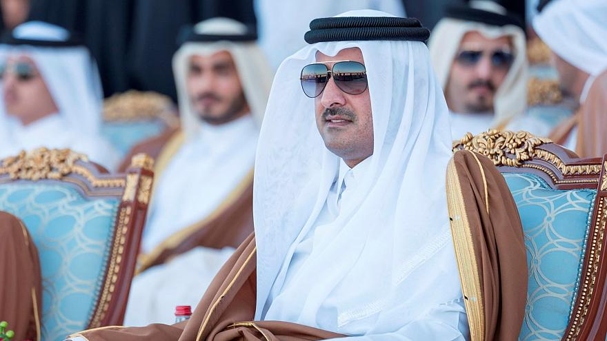 Qatar's Emir attends Qatar's National Day celebrations in Doha