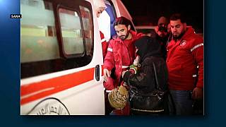 Evacuación de pacientes graves en Siria