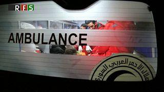 Vier schwerstkranke Kinder aus Ost-Ghouta evakuiert