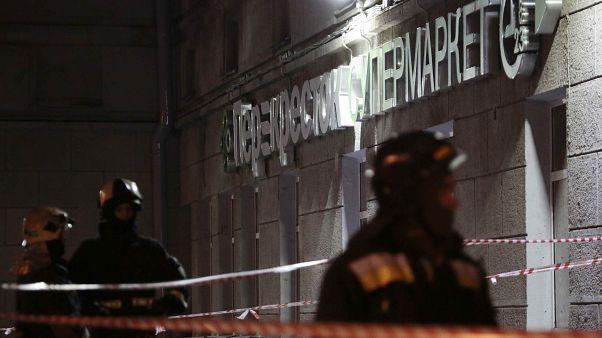 جرحى في انفجار بمدينة سان بطرسبرغ الروسية