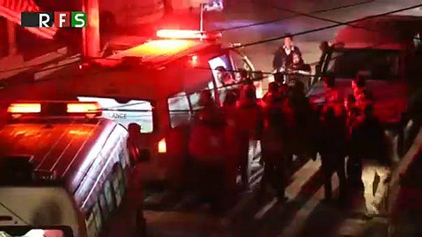 Súlyos betegeket menekítenek ki a szíriai Gútából