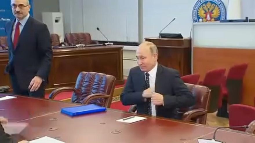 Amtsinhaber Wladimir Putin hat sich als Kandidat registrieren lassen.