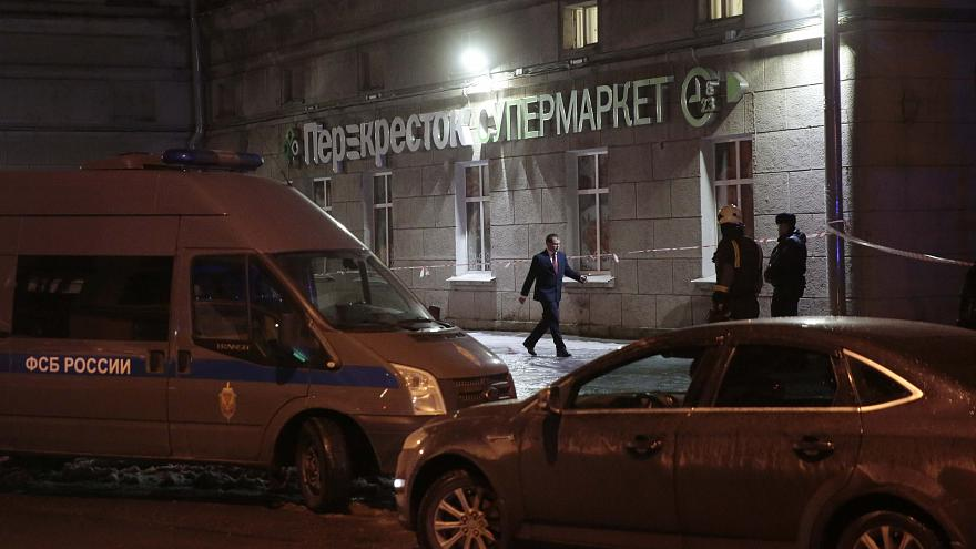 Russia: several injured in St Petersburg shopping centre blast