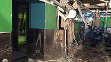San Pietroburgo: ordigno artigianale esplode fuori da un supermercato