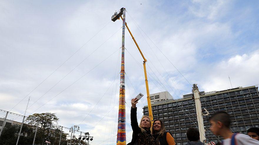 Самая высокая башня Lego в мире