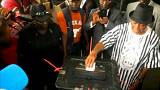 Too close to call in Liberia elections