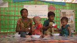 2017'de çatışmaların ortasında kalan çocuklar