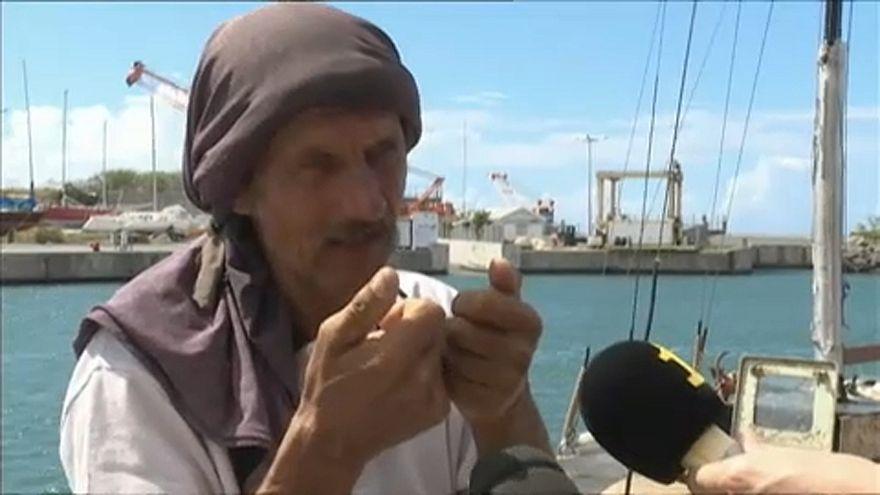 Rescatado tras naufragar siete meses en el Oceáno índico