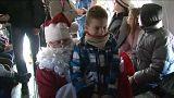 Санта-Клаус на военном самолете