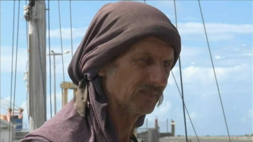 Polish sailor rescued after 'drifting for seven months' in Indian Ocean