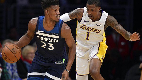 Nuggets'ın 3 maçlık galibiyet serisine Minnesota son verdi