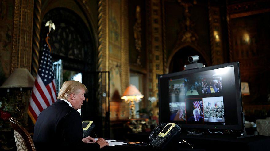 Görüntülerle Trump'ın dünya sahnesindeki ilk yılı