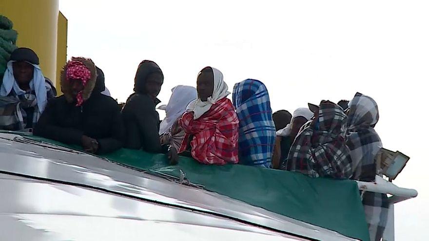 Libya açıklarında göçmen kurtarma operasyonu