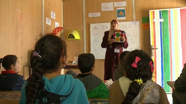 Educação no maior campo de refugiados jordano