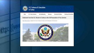 ABD ile Türkiye arasındaki vize krizi sonlandı