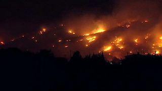 Erdőtűz pusztított Mallorcán