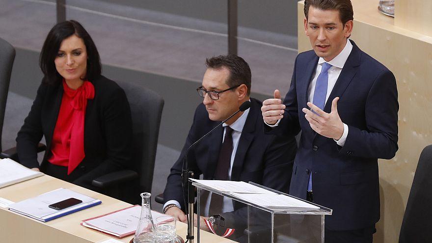 Appel au boycott du gouvernement autrichien
